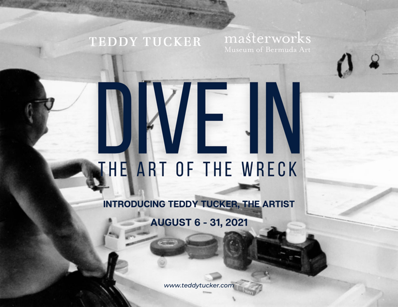 Dive In The Art of the Wreck Bermuda July 2021
