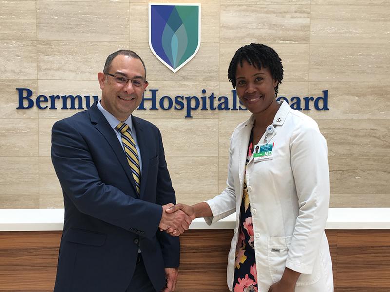 Dr Victor Urrutia & Dr Francene Gayle Bermuda July 2021