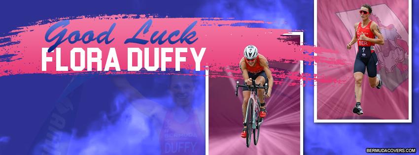 Flora Duffy Bermuda Athlete Facebook Cover Image Design 1