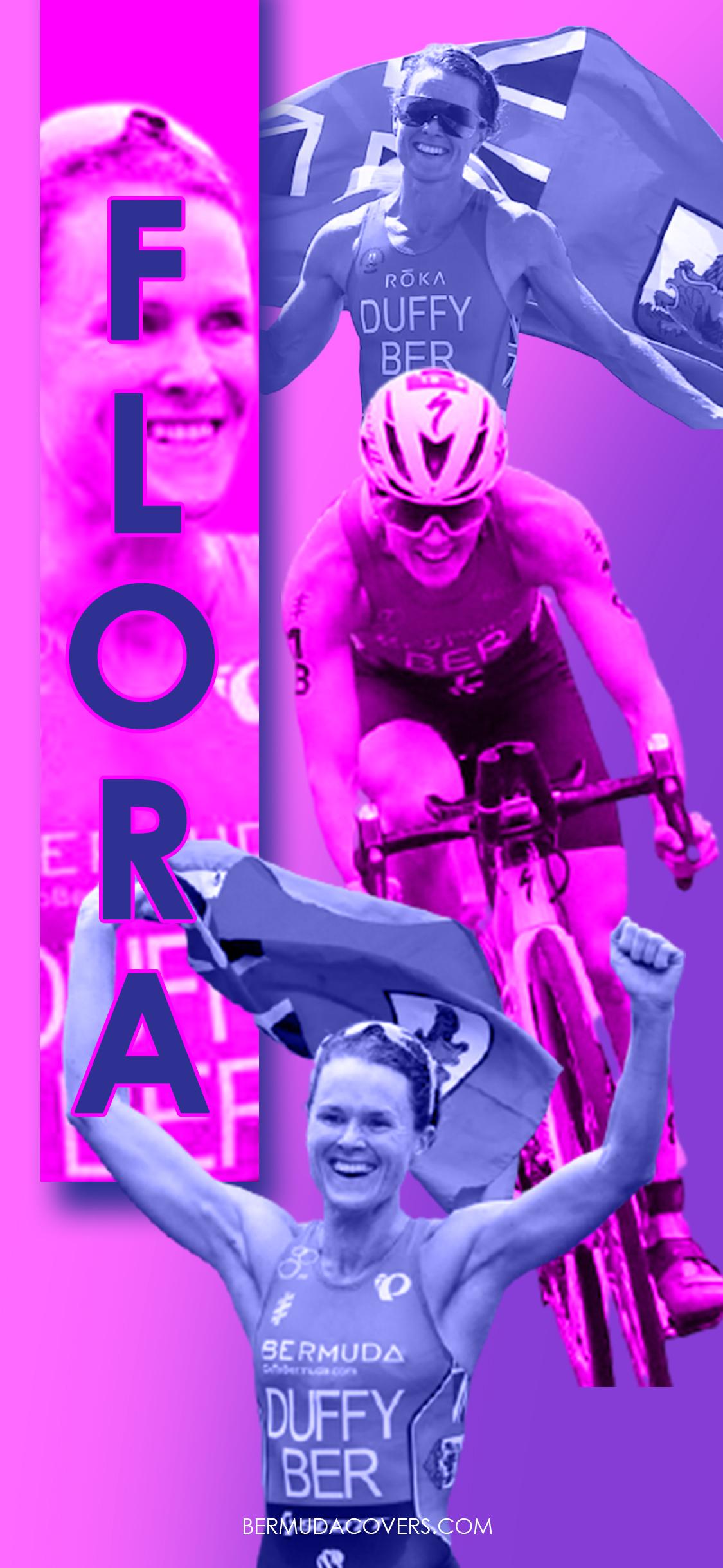 Flora Duffy Olympics Bermuda Bernews Mobile phone wallpaper lock screen design image photo 4dAAAZNF