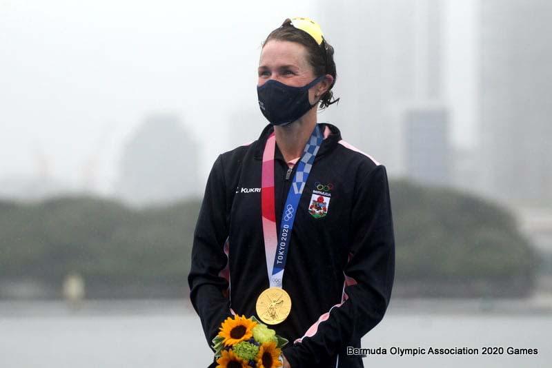 Flora Duffy Wins Gold At Olympics Bermuda July 2021 1