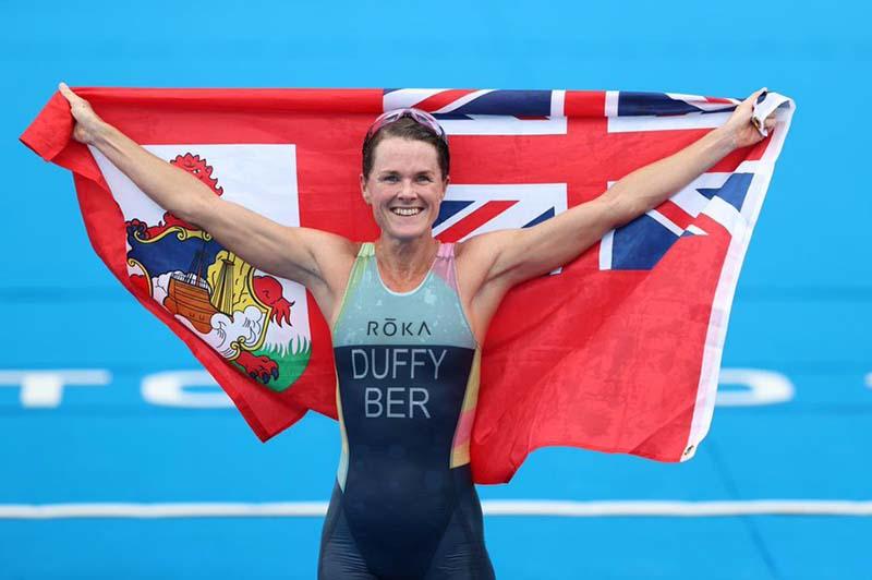 Flora Duffy Wins Gold At Olympics Bermuda July 2021 11