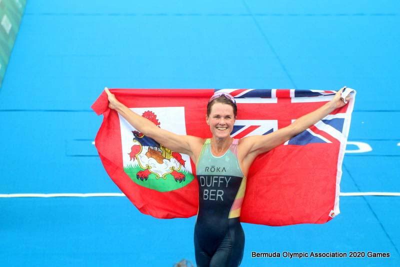 Flora Duffy Wins Gold At Olympics Bermuda July 2021 12