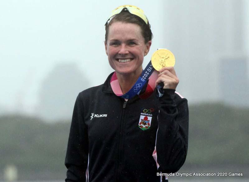 Flora Duffy Wins Gold At Olympics Bermuda July 2021 13