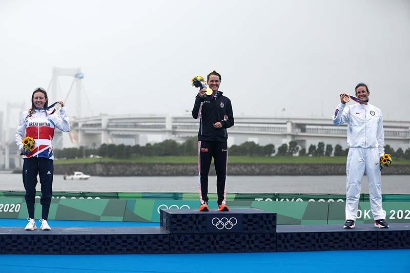 Flora Duffy Wins Gold At Olympics Bermuda July 2021 15