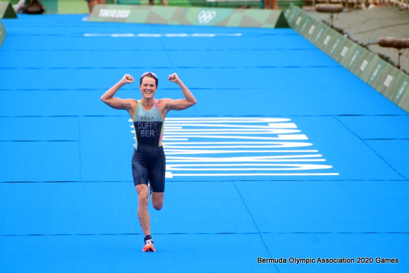 Flora Duffy Wins Gold At Olympics Bermuda July 2021 18