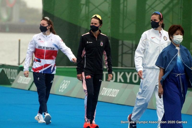Flora Duffy Wins Gold At Olympics Bermuda July 2021 19