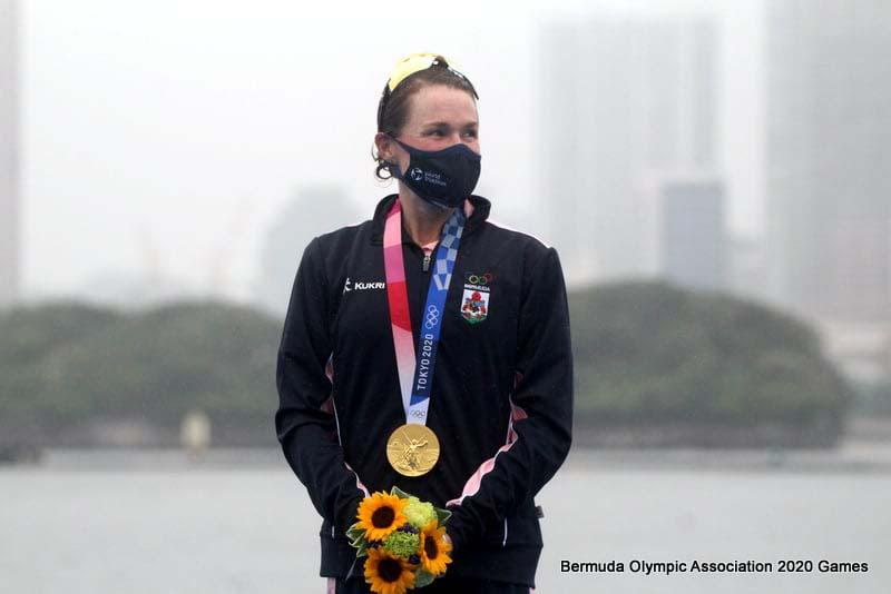 Flora Duffy Wins Gold At Olympics Bermuda July 2021 2