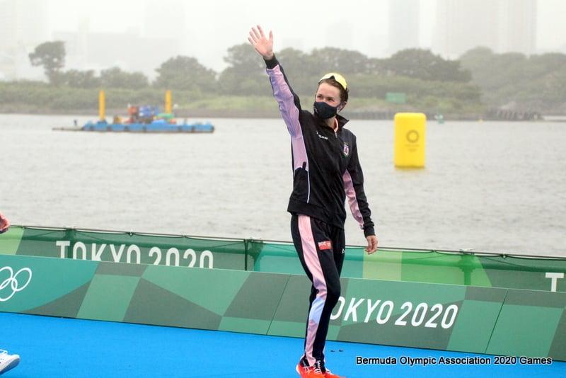 Flora Duffy Wins Gold At Olympics Bermuda July 2021 20