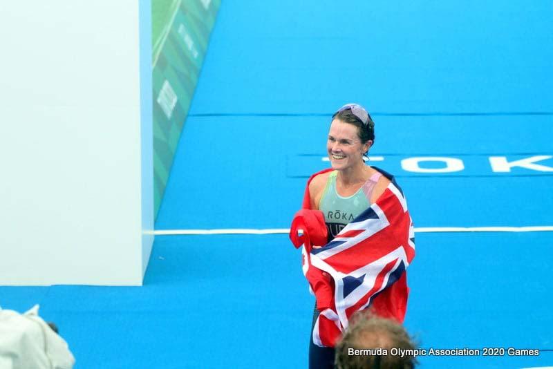 Flora Duffy Wins Gold At Olympics Bermuda July 2021 5