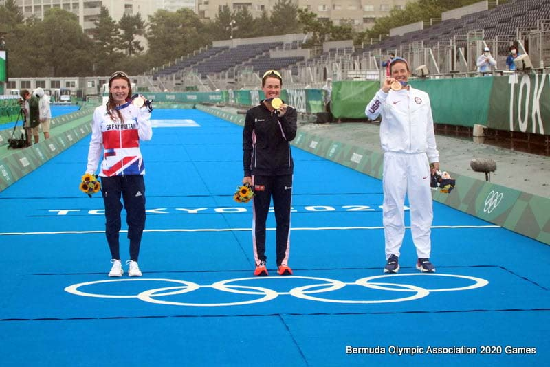 Flora Duffy Wins Gold At Olympics Bermuda July 2021 7