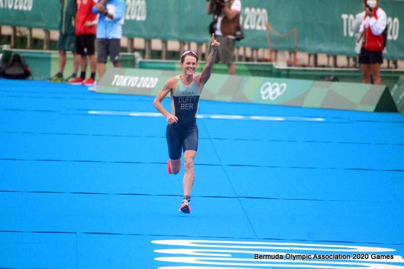 Flora Duffy Wins Gold At Olympics Bermuda July 2021 8