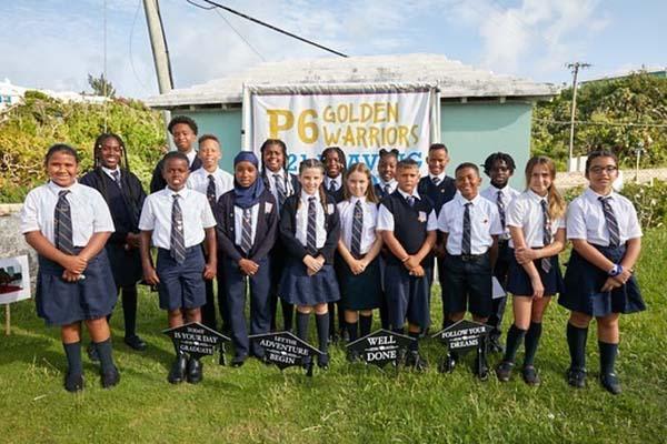 Francis Patton Primary School Graduates Bermuda July 2021 1