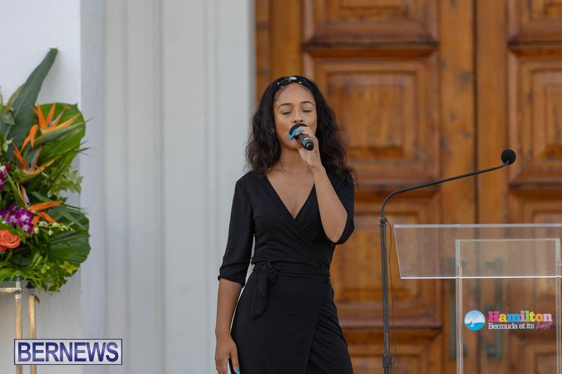 Freedom Square Unveiling City of Hamilton Bermuda July 2021 (13)