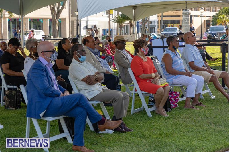 Freedom Square Unveiling City of Hamilton Bermuda July 2021 (17)