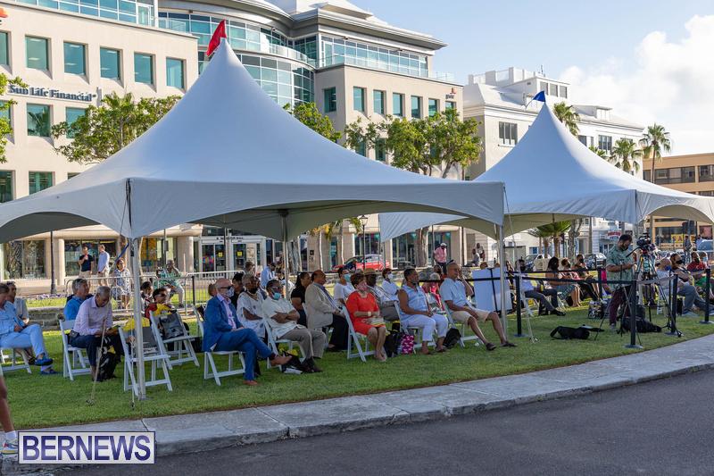 Freedom Square Unveiling City of Hamilton Bermuda July 2021 (19)