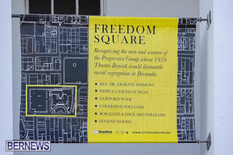 Freedom Square Unveiling City of Hamilton Bermuda July 2021 (23)