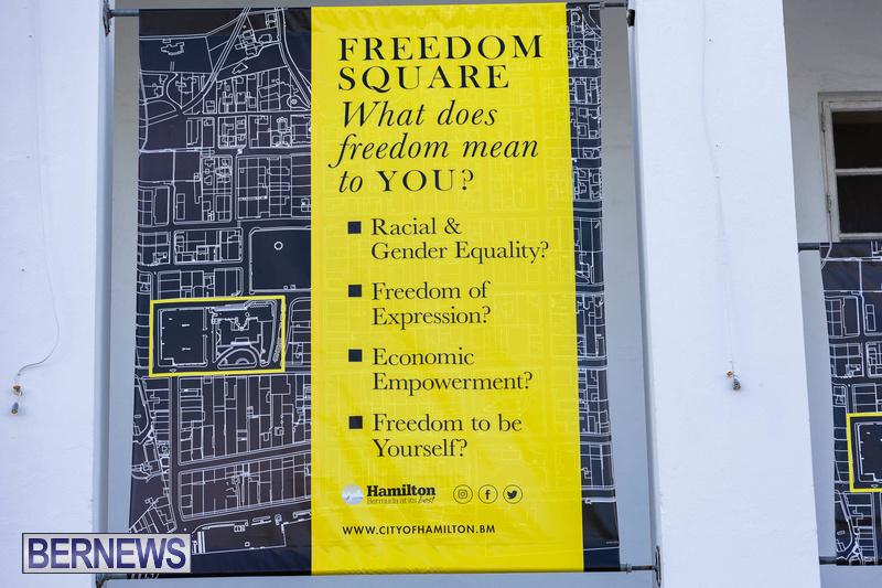 Freedom Square Unveiling City of Hamilton Bermuda July 2021 (24)