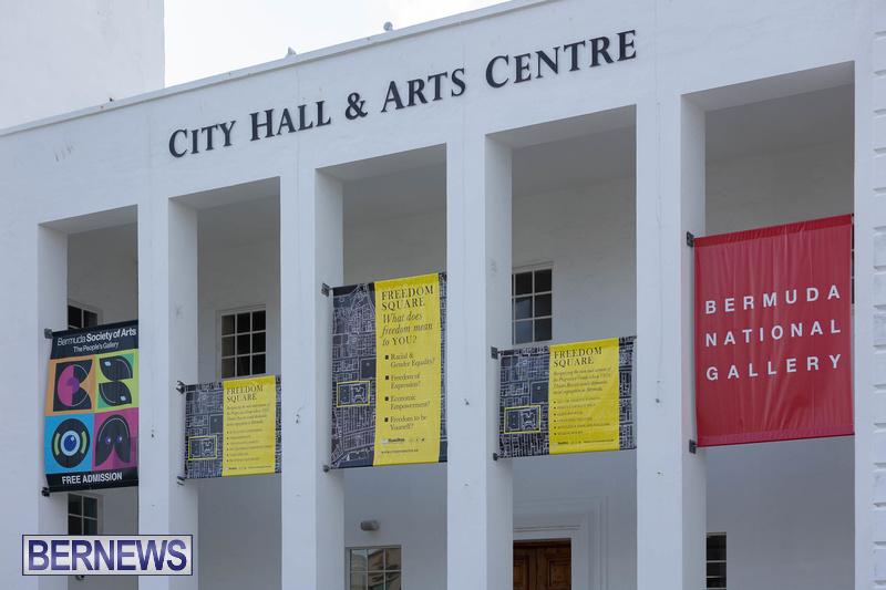 Freedom Square Unveiling City of Hamilton Bermuda July 2021 (4)