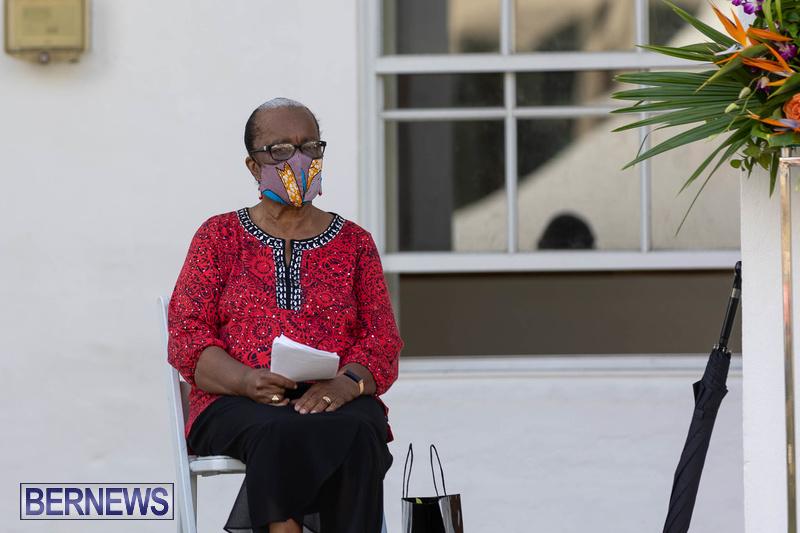 Freedom Square Unveiling City of Hamilton Bermuda July 2021 (7)