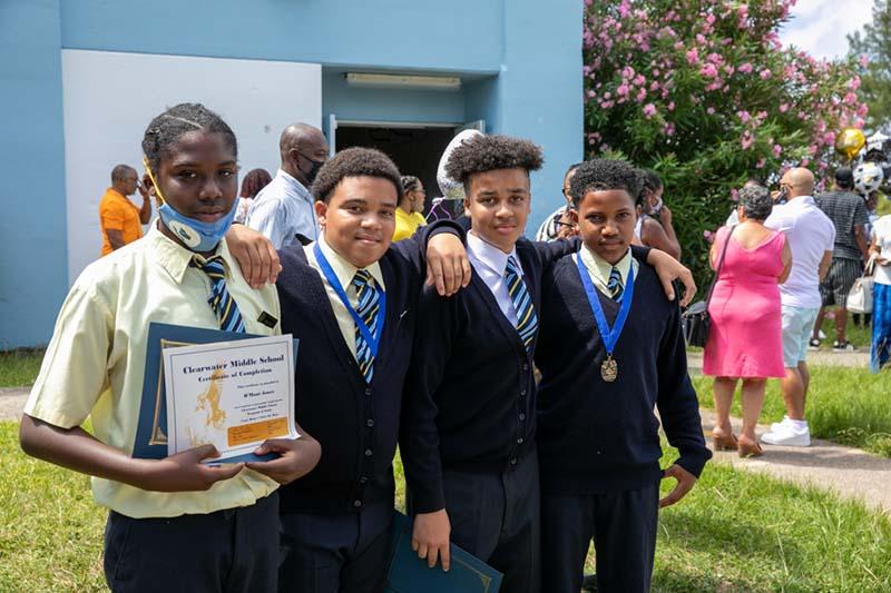 Graduating Classes Bermuda July 2021 2