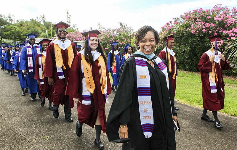 Graduating Classes Bermuda July 2021 5