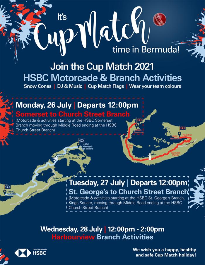 HSBC Cup Match Bermuda July 2021