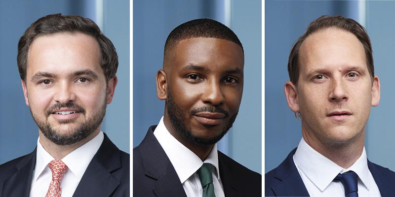 Henry Tucker, Kyle Masters & Jay Webster Bermuda July 2021