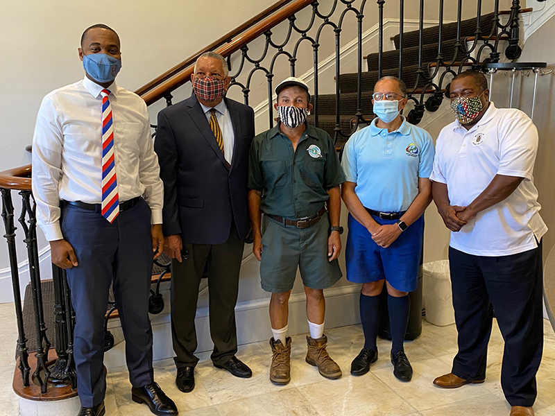 Joao Soares Retirement Bermuda July 2021 1