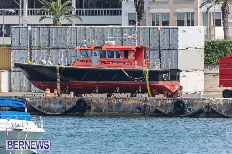 Pilot Boat St David Bermuda July 2021