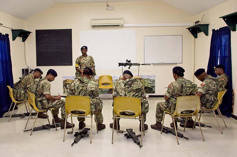 Day 3 of Recruit Camp Bravo 2021