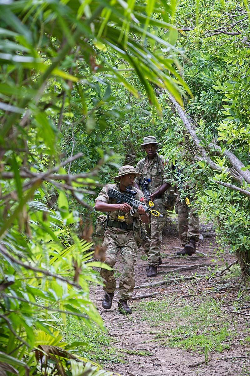 Royal Bermuda Regiment Recruit Camp 21 Bravo First Encounter Ex.