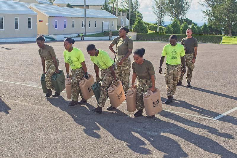 Royal Bermuda Regiment Recruit Camp 21 Bravo.