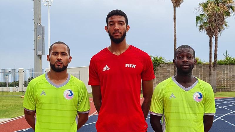 Referee Trio Pass FIFA Men's Fitness Test Bermuda July 2021