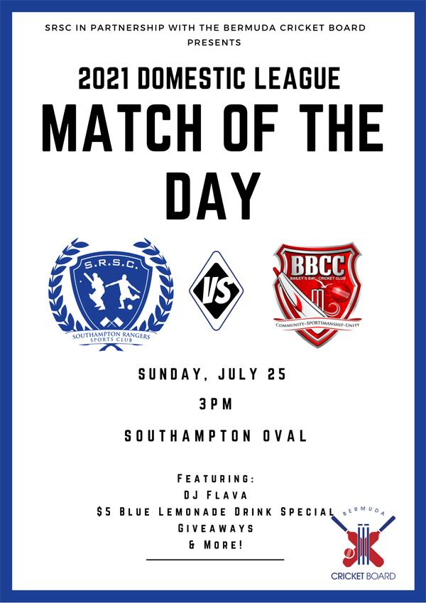 SRSC Match of the Day Bermuda July 2021