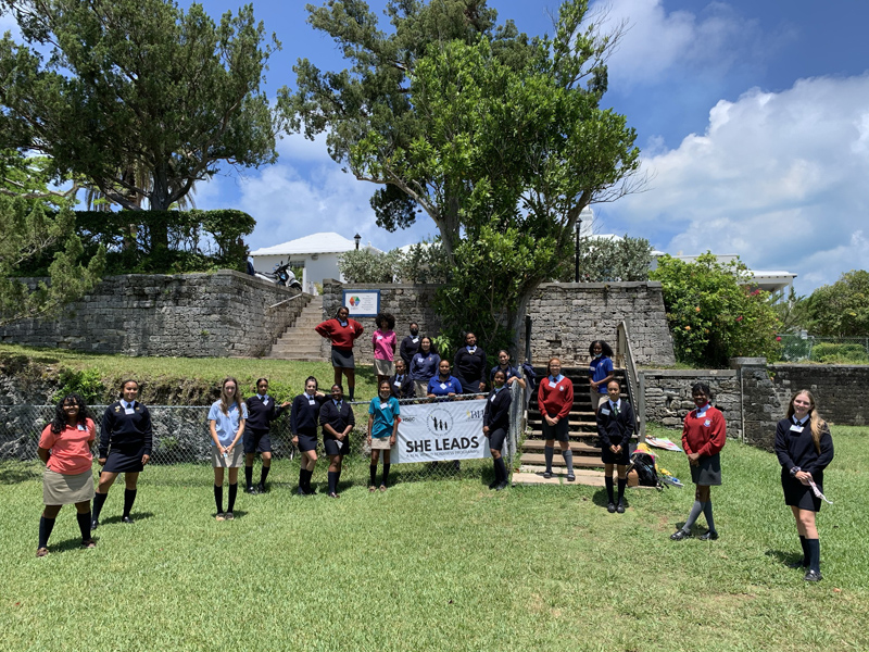 She Leads A Real World Readiness Programme Bermuda July 2021 (4)