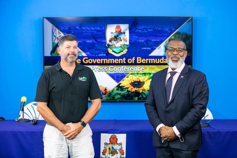 Solar Training Course Press Conference Bermuda July 2021