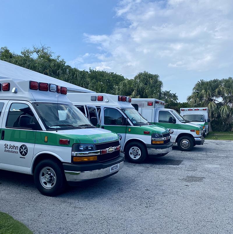 St John Ambulance Bermuda July 2021