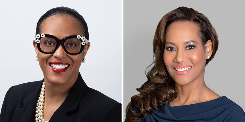 Tammy Richardson-Augustus & Marie-Louise Skafte Bermuda July 2021