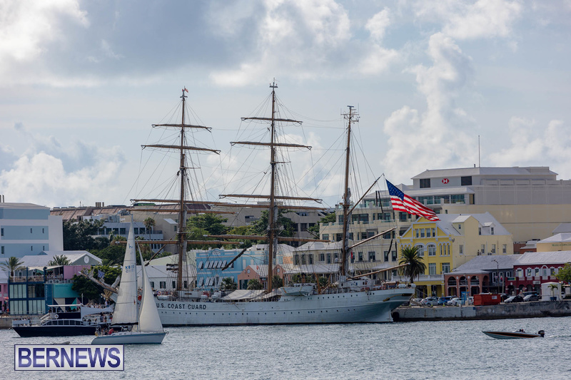 U.S. Coast Guard Cutter Eagle  Bermuda July 2021 (1)