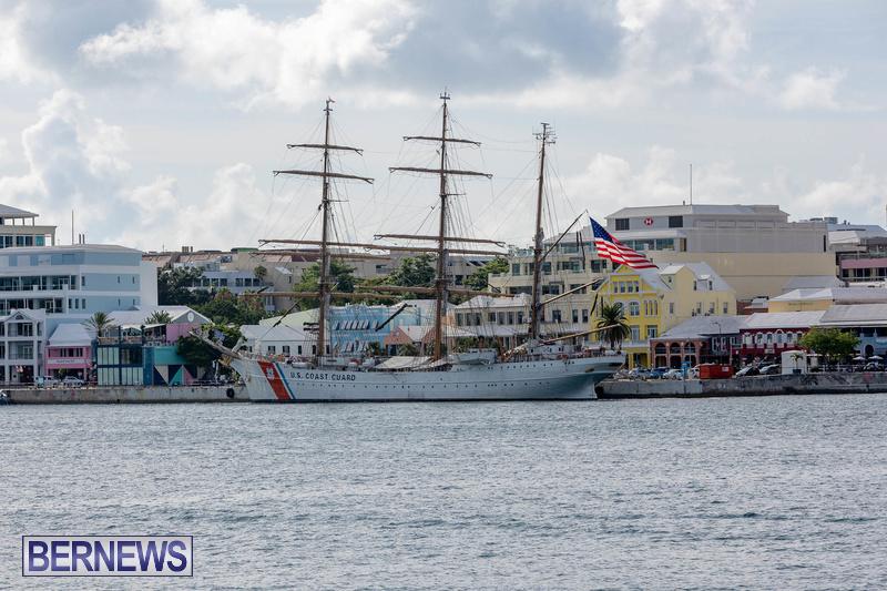 U.S. Coast Guard Cutter Eagle  Bermuda July 2021 (2)