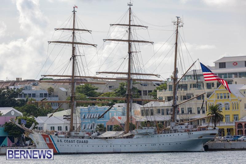 U.S. Coast Guard Cutter Eagle  Bermuda July 2021 (3)