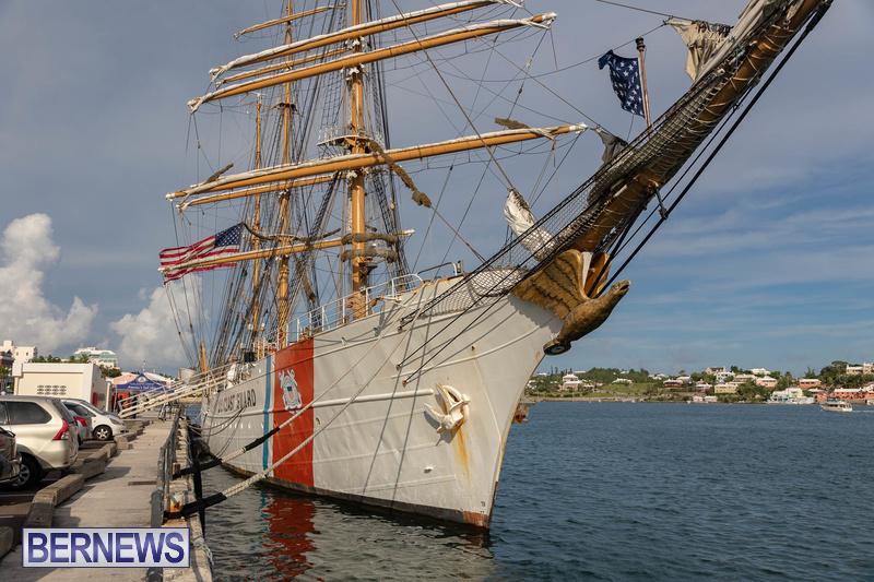 U.S. Coast Guard Cutter Eagle  Bermuda July 2021 (4)