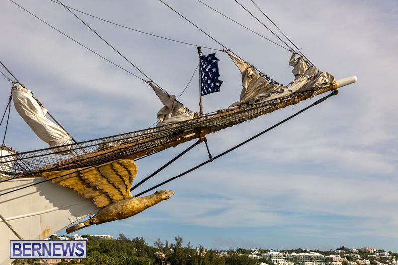 U.S. Coast Guard Cutter Eagle  Bermuda July 2021 (5)
