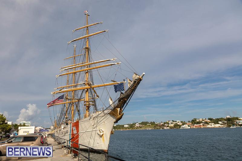 U.S. Coast Guard Cutter Eagle  Bermuda July 2021 (7)