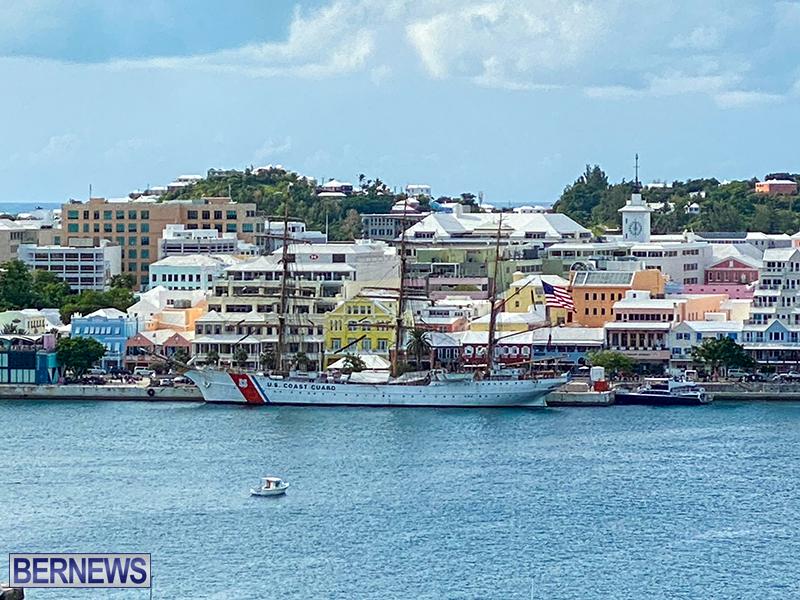 U.S. Coast Guard Cutter Eagle Bermuda July 2021 8