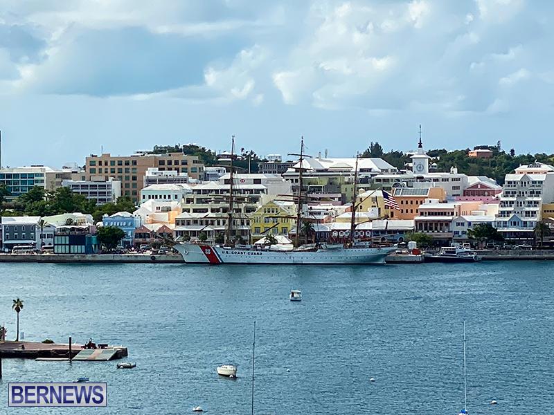 U.S. Coast Guard Cutter Eagle Bermuda July 2021 9
