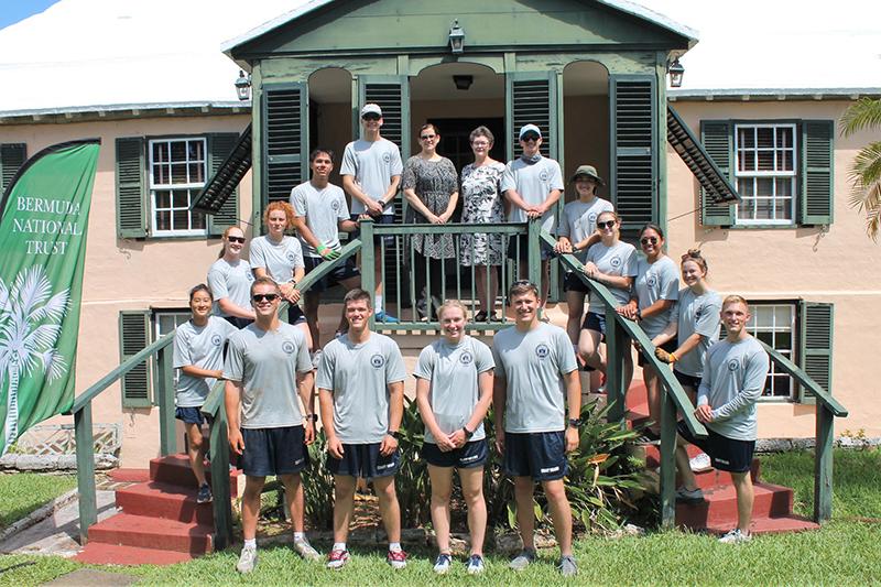 US Coast Guard Cadets Volunteer For BNT Bermuda July 2021 1
