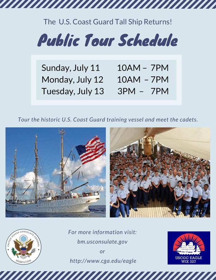 USCG Eagle Public Tours