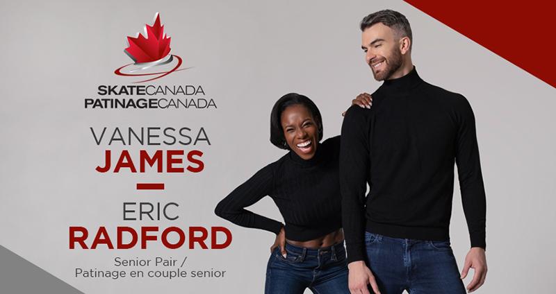 Vanessa James Canada Skating National Team July 2021